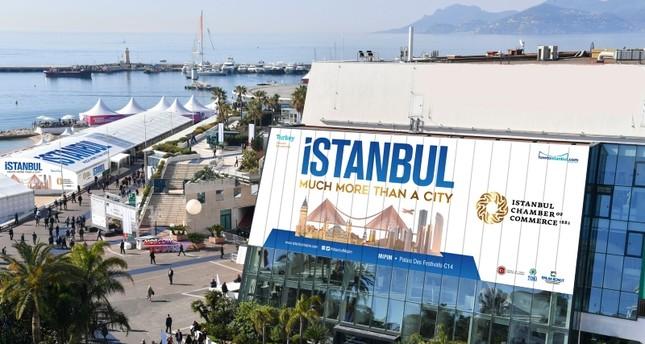 خيمة إسطنبول المقامة على مساحة 68 مترًا مربعاً، للمرة الخامسة، خلال معرض MIPIM للتطوير العقاري