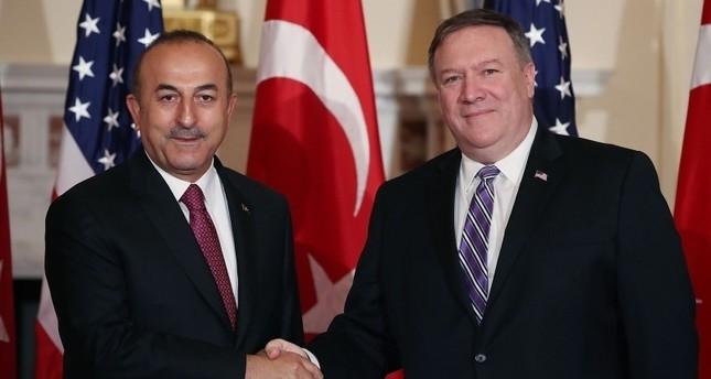 Çavuşoğlu, Pompeo discuss US withdrawal from Syria