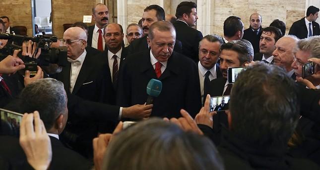 أردوغان: الإرادة الشعبية تجلّت بأبهى صورها عبر المشاركة الكبيرة في الاستفتاء