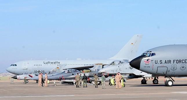 الجيش الألماني يبحث سحب طائراته من قاعدة انجيرليك الجوية