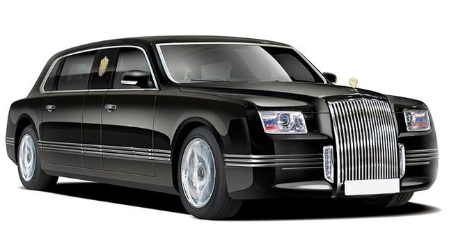 Новый лимузин Путина готов к участию в инаугурации