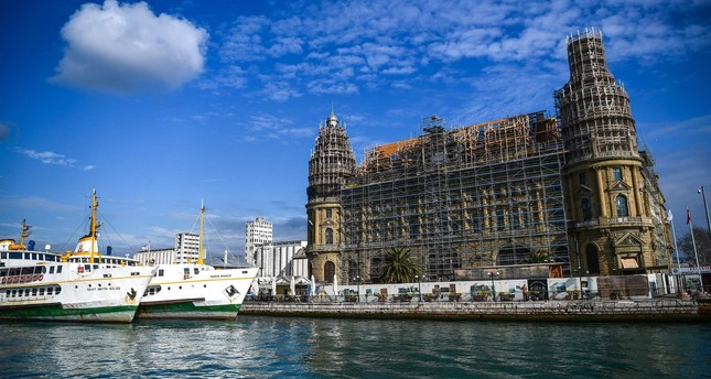 Haydarpaşa Railway Station is currently undergoing  restoration and will be opened next year.