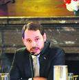Finance Minister Albayrak meets with global financiers