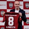 Iniesta begins new chapter at J. League's Kobe