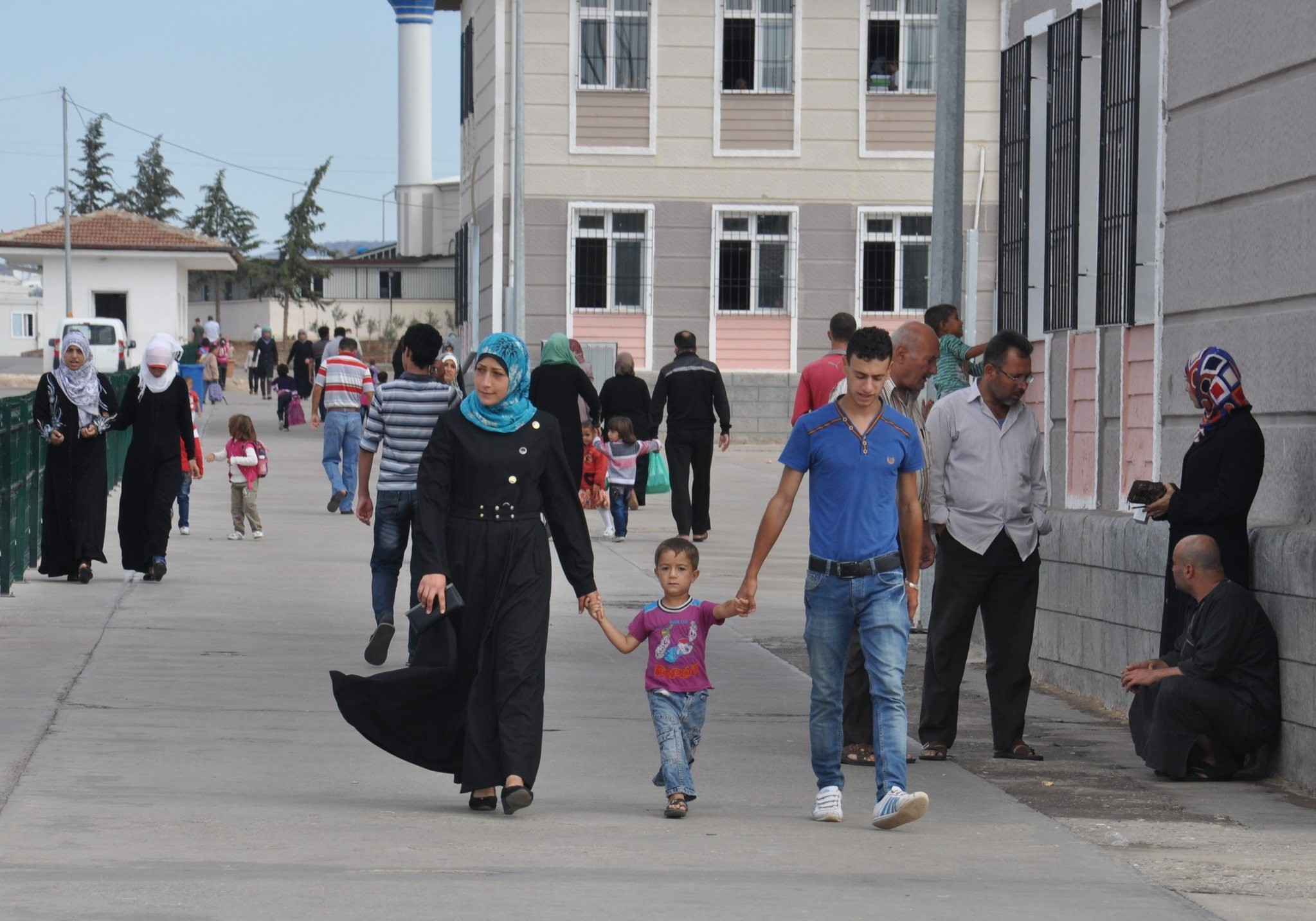 Located in southeastern Turkey near the Syrian border, Kilis has more than 120,000 Syrian refugees, exceeding its total Turkish population. (AA Photo)
