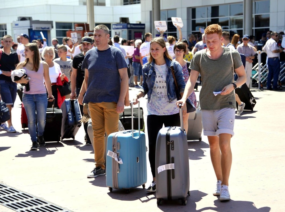 Often called Turkey's tourism capital, Antalya saw around 3.66 million Russian tourists from Jan. 1 to Oct. 31, an increase of 724 percent compared to the same months of last year.