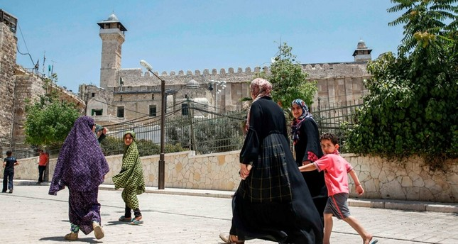المسجد الإبراهيمي في الخليل من الرشيف