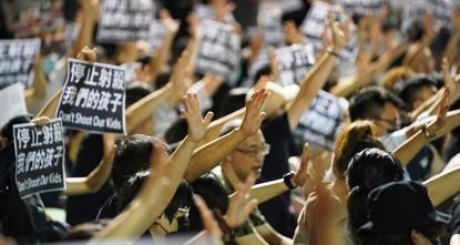 Hongkong: Schuss auf Aktivisten schürt neue Wut