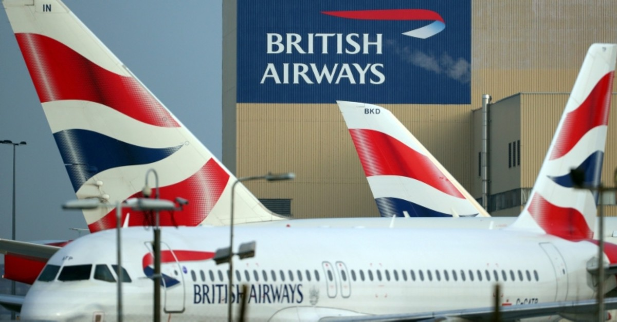 British Airways aircraft are seen at Heathrow Airport in west London, Britain, February 23, 2018. (AFP Photo)