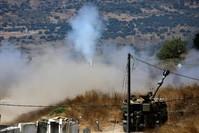 المدفعية الإسرائيلية المتمركزة في شمال إسرائيل الفرنسية