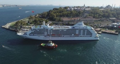 Cruise ships look to boost earnings in Istanbul this year