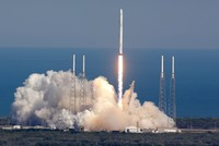 A SpaceX Falcon 9 rocket blasted off from California on Saturday and placed a constellation of satellites in orbit, marking the company's first launch since a fireball engulfed a similar rocket on...