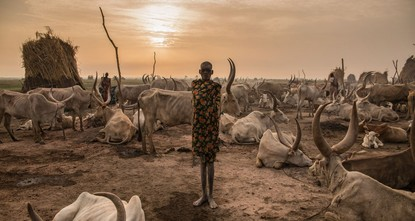 Photographer captures beauty of South Sudan's Dinka people