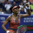 Venus beats Kvitova to face Stephens in US Open semis