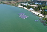 Turkey's first floating solar power plant built in Istanbul