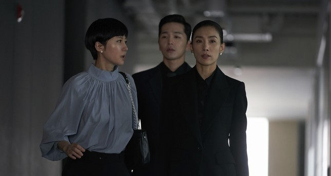 """SKY Castle,"" named for the country's elite triumvirate, the universities of Seoul National, Korea and Yonsei, focuses on wealthy, overbearing mothers desperate to send teenage children to nation's top educational establishments, whatever the cost."