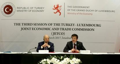 pLuxembourg's Deputy Prime Minister Etienne Schneider invited Turkish banks to open branches in Luxembourg on Monday./p  pWe are a significant finance center but there is no Turkish bank in...