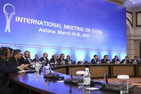 Turkey, Russia and Iran agree to boost cooperation in Syria