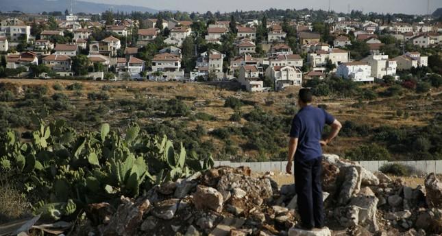 The Israeli settlement of Hashmonaim in the Israeli-occupied West Bank, June 19, 2017.