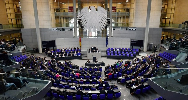 """Parliament cited """"growing unease"""" in the German Jewish community as anti-Semitism has increased."""