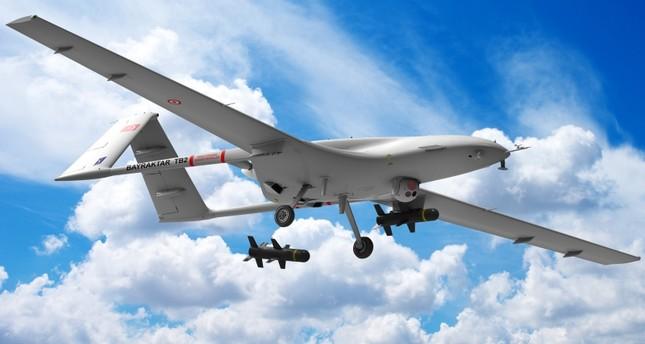 الطائرة المسيرة المسلحة محلية الصنع بايراكتار تي بي 2