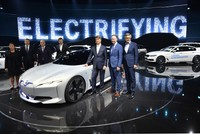 European car bosses gathering for the Frankfurt auto show are beginning to address the realities of mass vehicle electrification, and its consequences for jobs and profit, their minds focused by...