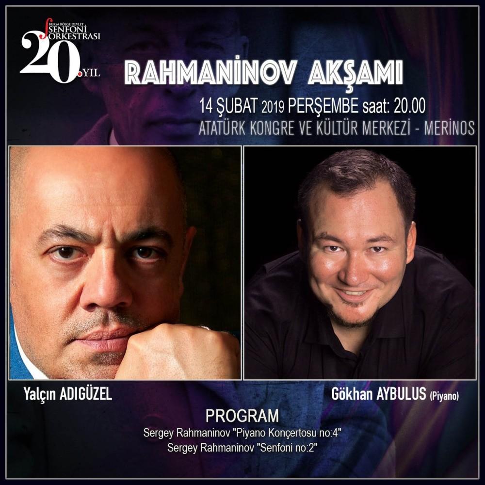 Bursa Symphony to perform Rachmaninoff pieces - Daily Sabah