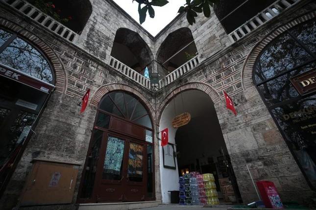 Kozahan Caravanserai was built in the 15th century as the last stop of the Silk Road. (AA Photo)