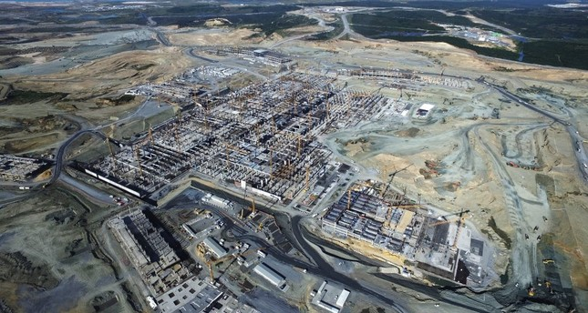 Nearly half of construction complete at Istanbul's new airport