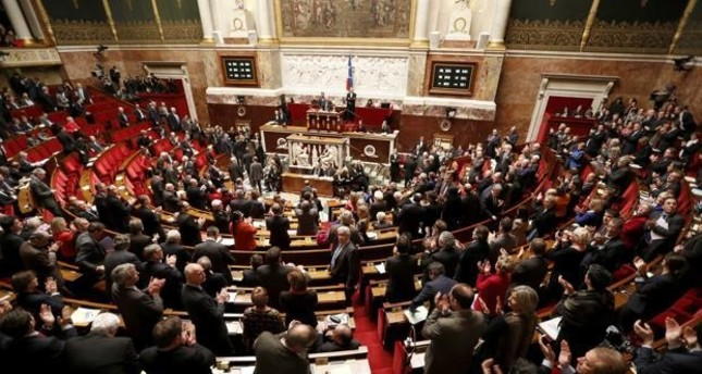 French parliament (Reuters file photo)