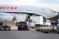 Plane carrying expelled Russian diplomats leaves US