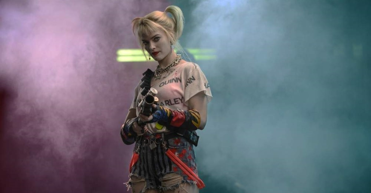 This image released by Warner Bros. Pictures shows Margot Robbie in a scene from ,Birds of Prey., (AP Photo)