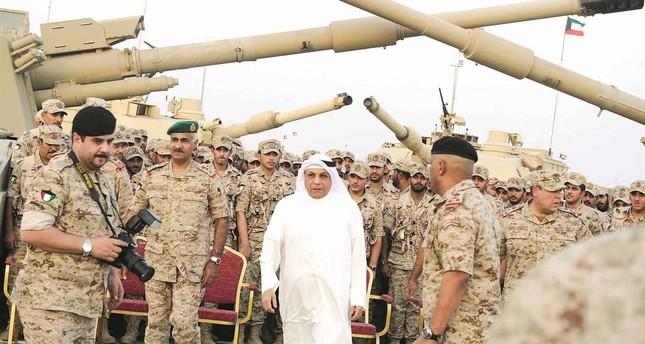 قائد القوة البرية في الجيش الكويتي اللواء الركن خالد صالح الصباح