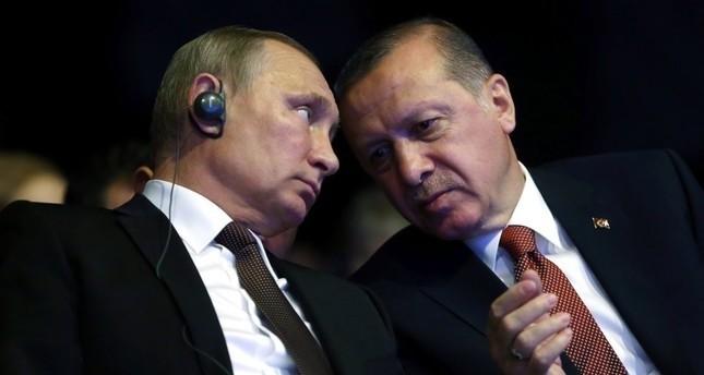Erdoğan, Putin discuss Assad regime attacks on Idlib