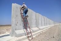 Турция возвела стену на границе с Сирией