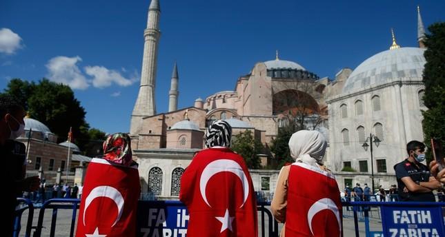 """أردوغان: اتخذنا قرار فتح """"آيا صوفيا"""" للعبادة تلبية لرغبة شعبنا"""