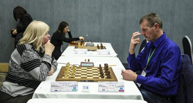 Chess players with various disabilities from 24 countries took part in the tournament in Ankara. AA Photo