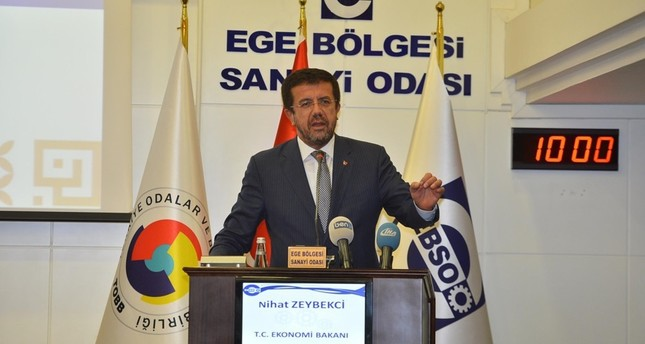 Economy Minister Nihat Zeybekci (DHA Photo)