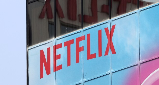 The Netflix logo is seen on their office in Hollywood, Los Angeles, California, U.S. July 16, 2018. (Reuters Photo)