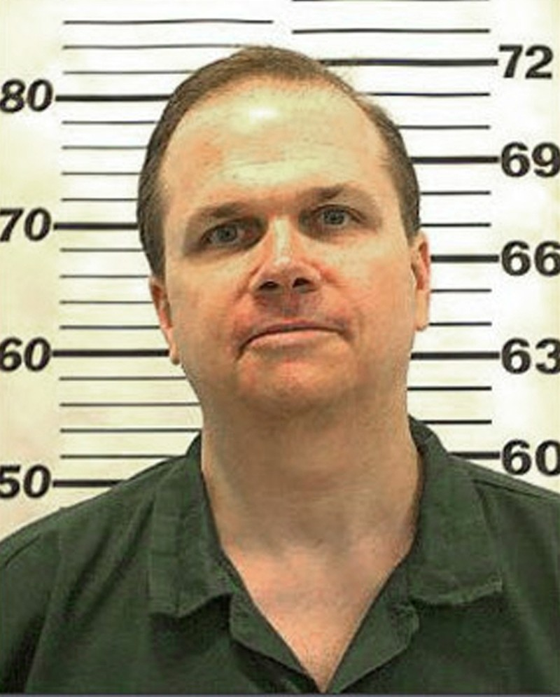 This file photo taken on August 19, 2012, provided by the New York State Department of Corrections shows inmate Mark David Chapman. (AFP Photo)