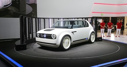 pHonda's new all-electric vehicles could possibly be produced in Turkey, the head of Honda operations in the country announced Thursday. /p