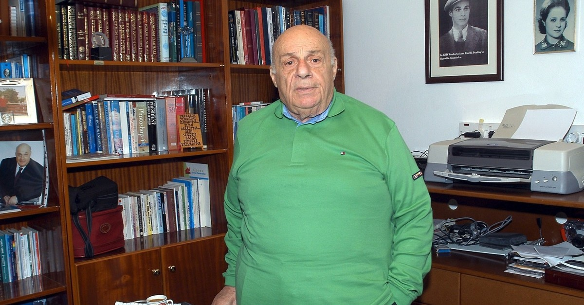 Rauf Denktau015f, Feb. 23, 2008.