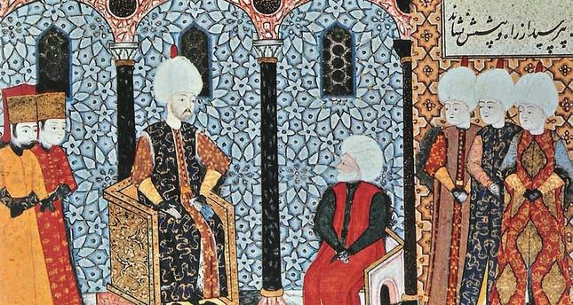 "Süleyman I. der ""Prächtige""/ (Ḳānūnī) und Khair ad-Din Barbarossa"