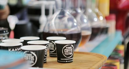 pWe all know that no one can resist a freshly brewed cup of coffee, and this week, the Istanbul Coffee Festival offers you all the coffee you could possibly want, opening its doors today in...