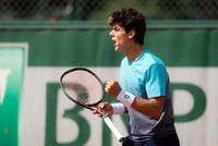 Turkey's Yankı Erel wins boys' doubles title in Wimbledon