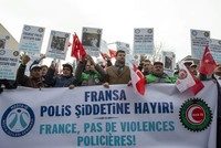 French police violence against Turkish journalist sparks protests