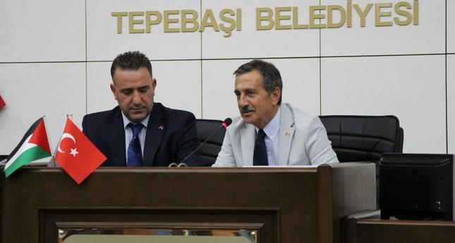 اتفاق توأمة بين تابه باشي التركية وسلفيت الفلسطينية