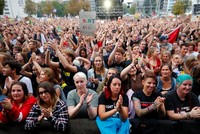 'We are more': 50,000 people turn out for anti-racism concert in Germany's Chemnitz