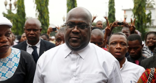 Opposition candidate Felix Tshisekedi declared winner in Congo presidential poll