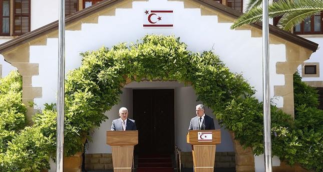 Ministerpräsident Binali Yıldırım ist in Nordzypern
